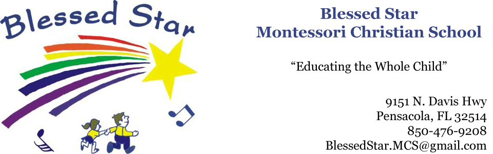 Blessed Star Montessori Christian School